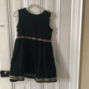ASOS black dress with detail
